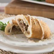 Cheesesteak Onion Slice 6oz Pazotti