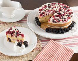 Italian Wildberry Cake Slice