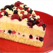 Mixed Berry Cream Cake