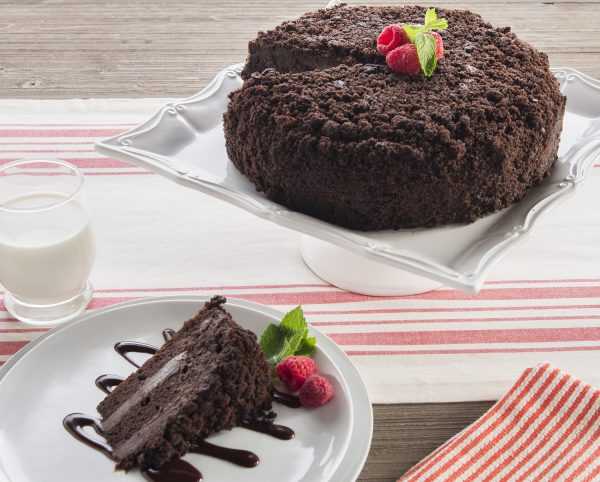 Brooklyn Blackout Cake Slice