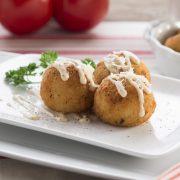 Mozzarella Provolone 2oz Arancini