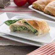 Spinach Cheese Stromboli